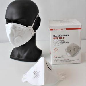 FFP3 Atemschutz mit Ventil